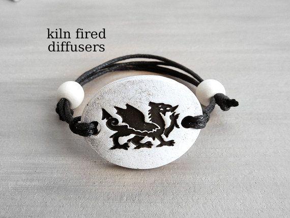 Black Dragon Essential Oil Diffuser Clay by KilnFiredDiffusers