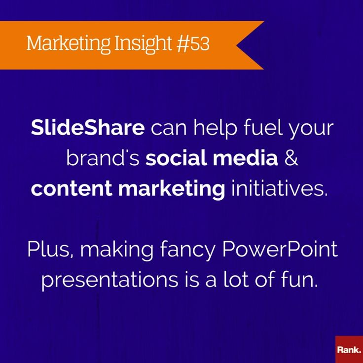 We're suckers for a good PowerPoint presentation.