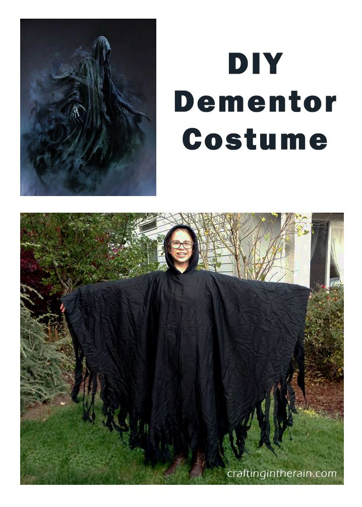 How to make a dementor costume. It's super easy!