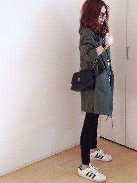 mayumiさんの「CONVERSE CVS ALL STAR OX(CONVERSE|コンバース)」を使ったコーディネート