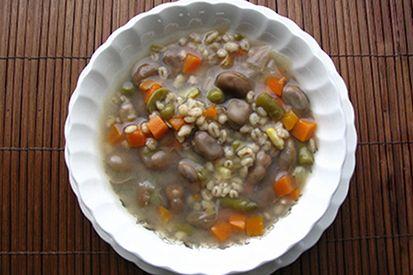 Soupe aux gourganes à la claude #recettesduqc #soupe #gourgane
