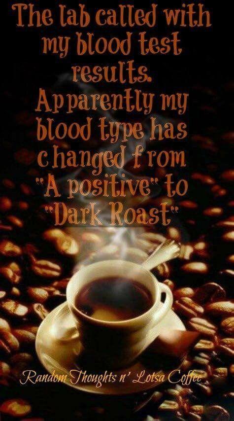 Dark roast blood