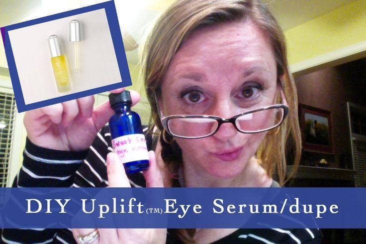 Younique Uplift Eye Serum dupe and DIY eye serum