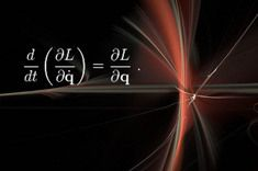 """Credit: Shutterstock/Marc Pinter  Euler–Lagrange equations and Noether's theorem.  """"These are pretty abstract, but amazingly powerful,"""" NYU's Cranmer said. """"The cool thing is that this way of thinking about physics has survived some major revolutions in physics, like quantum mechanics, relativity, etc.""""  Here, L stands for the Lagrangian, which is a measure of energy in a physical system, such as springs, or levers or fundamental particles."""