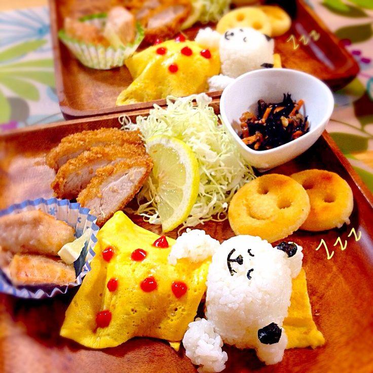 sleeping panda dinner plates