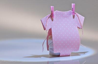 Para o chá de bebê ou maternidade