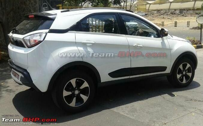 Launch-ready Tata Nexon compact SUV spotted sans camouflage