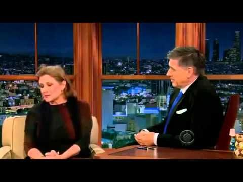 The Late Late Show With Craig Ferguson Carrie Fisher  2013, Jan 18th