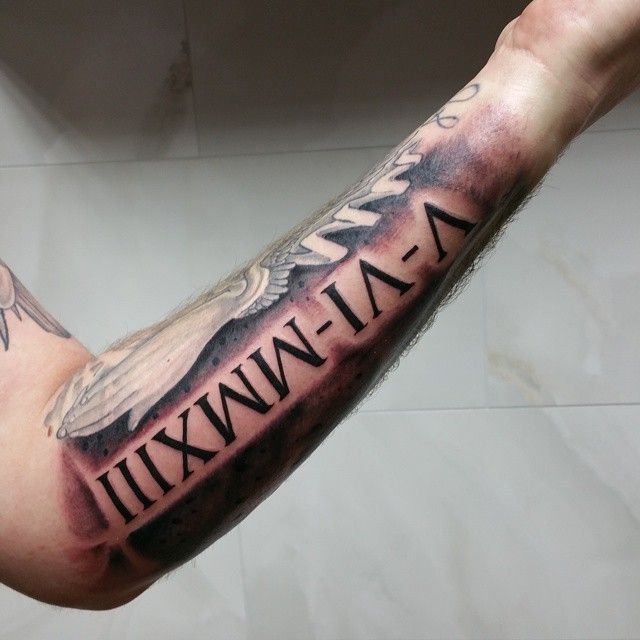 Number 3 Tattoo Ideas: 33 Best Images About Tatouages Avec Des Chiffres Romain On