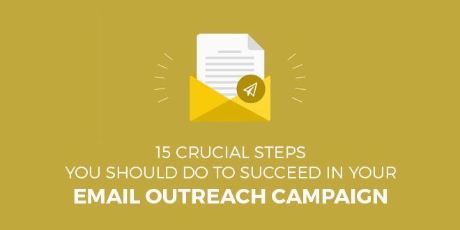 15 Crucial Steps To Succeed In Your Email Outreach Campaign | SociableBlog