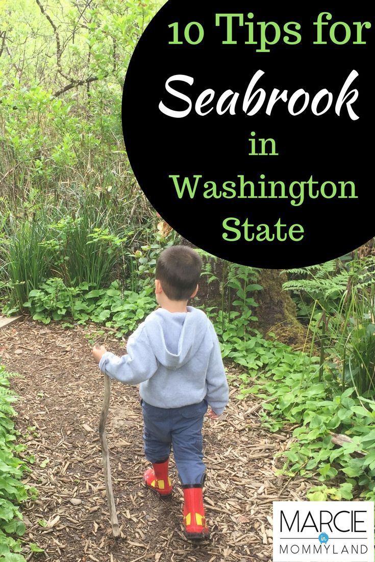 Looking for a Pacific Northwest seaside getaway that's perfect for families with small children? Seabrook in Washington State may be your answer! With beautiful beach houses, restaurants, shops and family activiites, Seabrook has it all! It's perfect for a weekend getaway or a summer trip away from Seattle. Click to read more or pin to save for later. www.marcieinmommyland.com #pnw #washingtoncoast