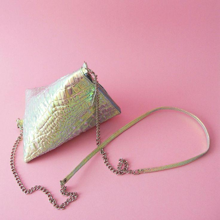 www.lull.com.pl  #lullbags #bags #leatherbag #hologram #natural #leather #design #minimalstyle #simplecity #summertime #summer #style #styleblogger #fashion #fashionaddict #crocodile #sale