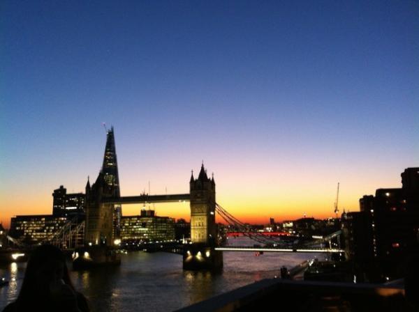 London in a few weeks :)