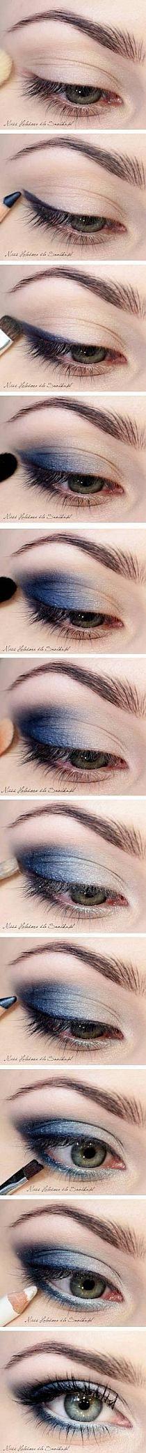 Mandelformade ögon – tutorial   Imakeyousmile.se