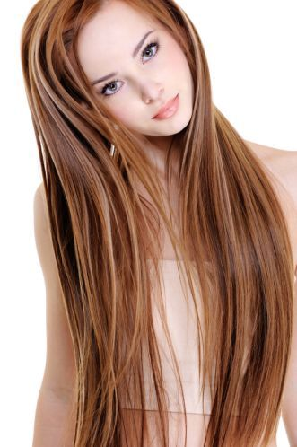 Braune Haare Mit Blonden Strähnchen