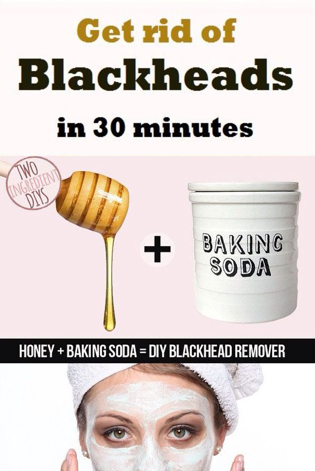 Diy blackmask remover honey mask