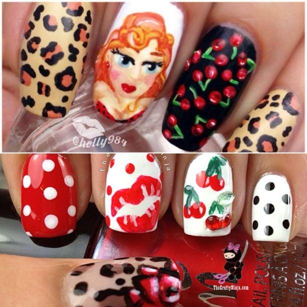 pin up nails