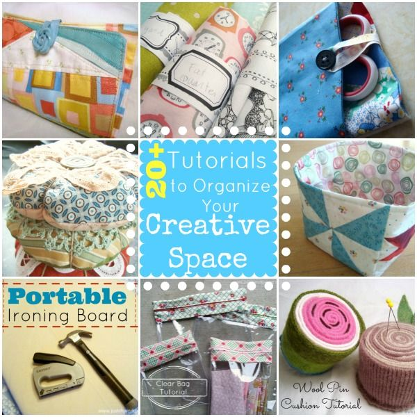 20 Sewing Studio Projects To Keep You Organized