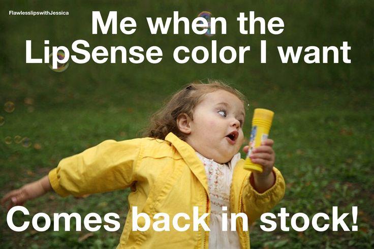 Funny LipSense meme