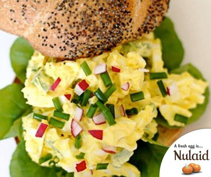 An egg salad is one of those things people feel very strongly about. You can throw in anything beyond eggs and mayonnaise. For the full instructions, click here: http://ablog.link/4go. Image source : thekitchn.com #Nulaid