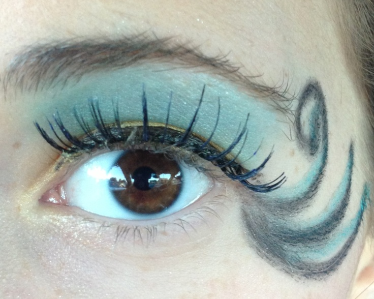 flounder eye makeup