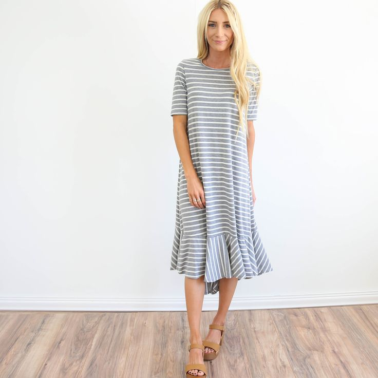 New on my site! The Monique Stripe Dress