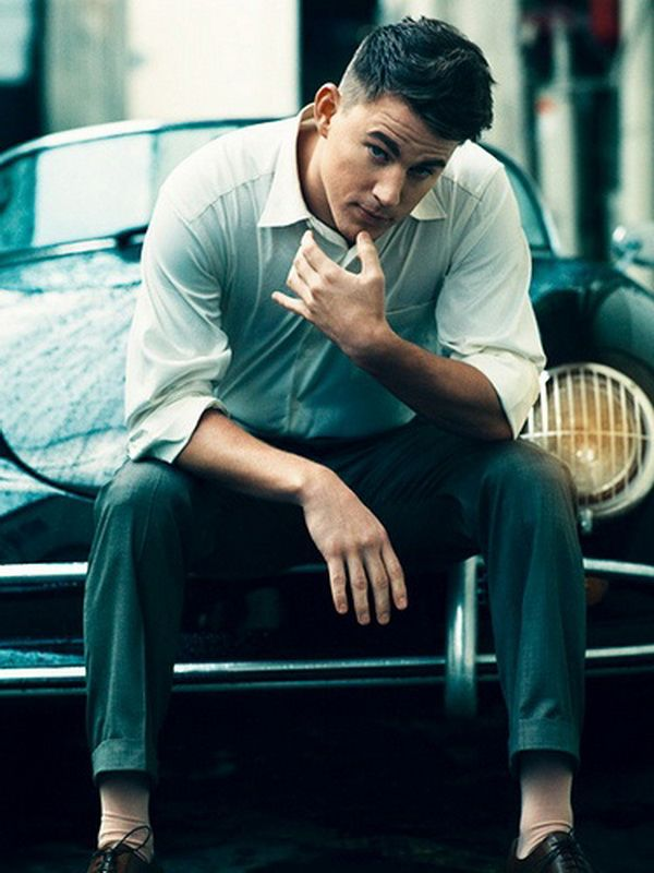 Channing tatum is hot i do not care what people say this guy is
