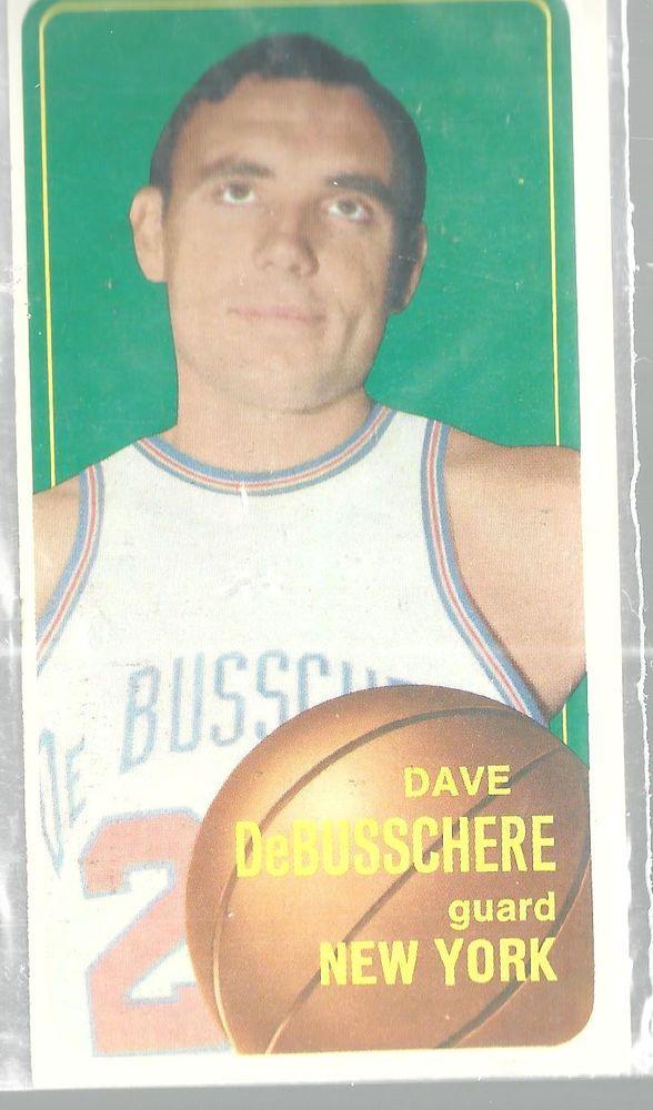 1970-71 Topps Basketball Card Dave DeBusschere New York Knicks #135 Guard #NewYorkKnicks