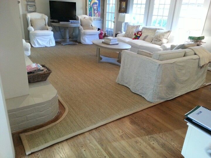 cut to fit seagrass rug