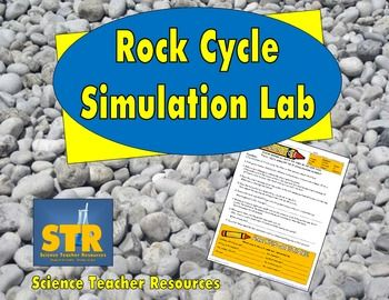 FREE Download!  Let students model the rock cycle with this printable, reproducible lab!