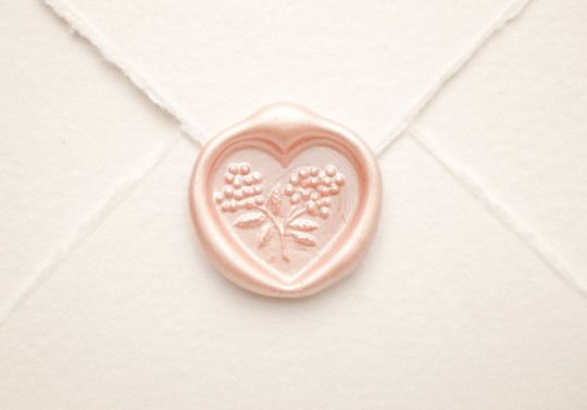 Heart Wax Seal by VenusEnvyPaper
