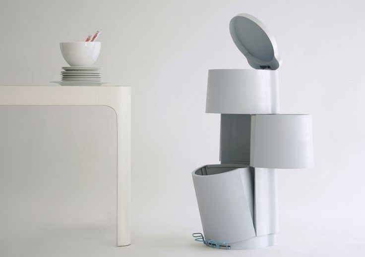Tri3 bin design constance guisset studio waste bins for Copie arredamento design