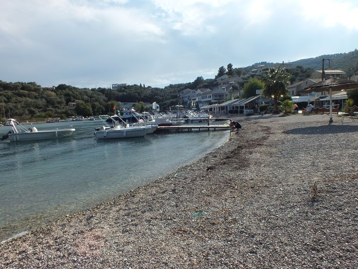 At a short distance from our villas in Corfu, just off Kassiopi village, a narrow winding road will take you to Agios Stefanos beach, a small cove with little pebbles and sand, shallow clear waters and the chance to rent a motor boat if you feel like exploring the exciting northeastern coast at your own leisure.
