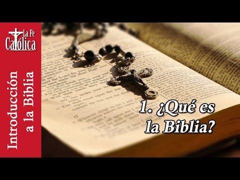 MI RINCON ESPIRITUAL: Introducción a la Biblia 1 - QUÉ ES LA BIBLIA