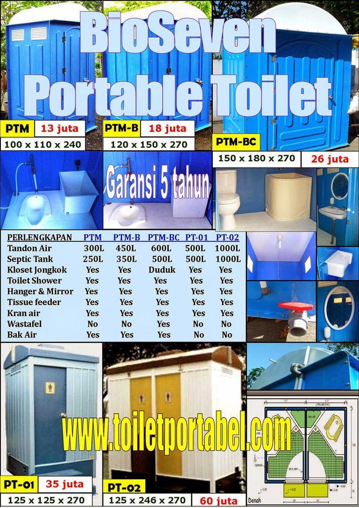 BioSeven Online: Toilet Portable (WC Portabel), Grease trap (Saring...