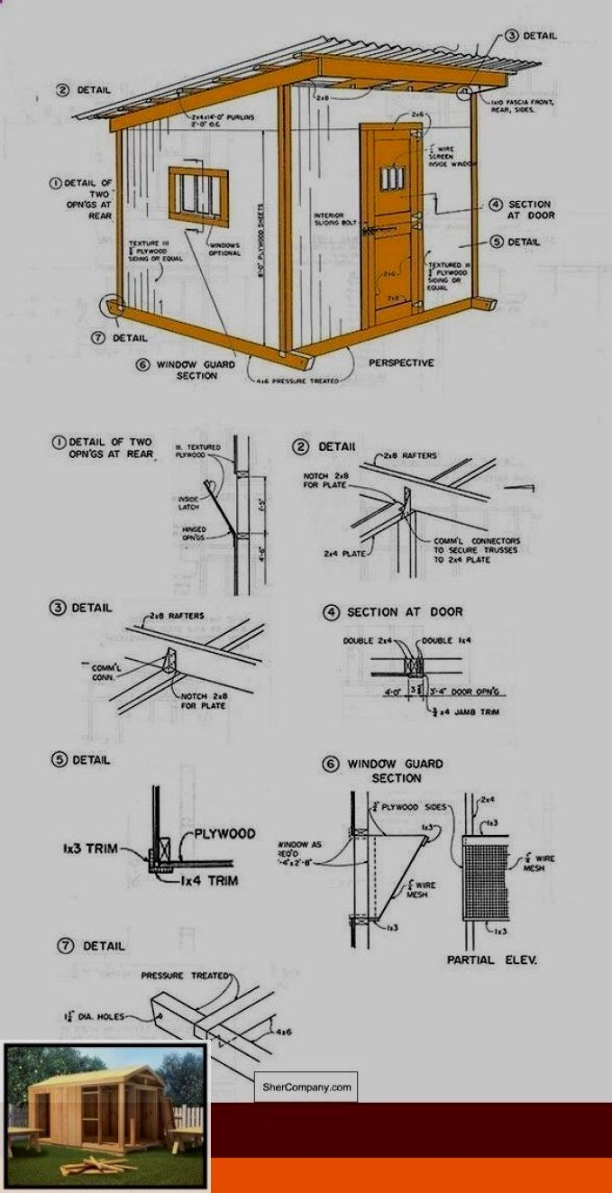 Simple Shed Roof Plans We Looked Around And We Found A Bunch Of Shed Plans That We D Like To Share With Yo In 2020 Shed Plans Storage Shed Plans Small Log