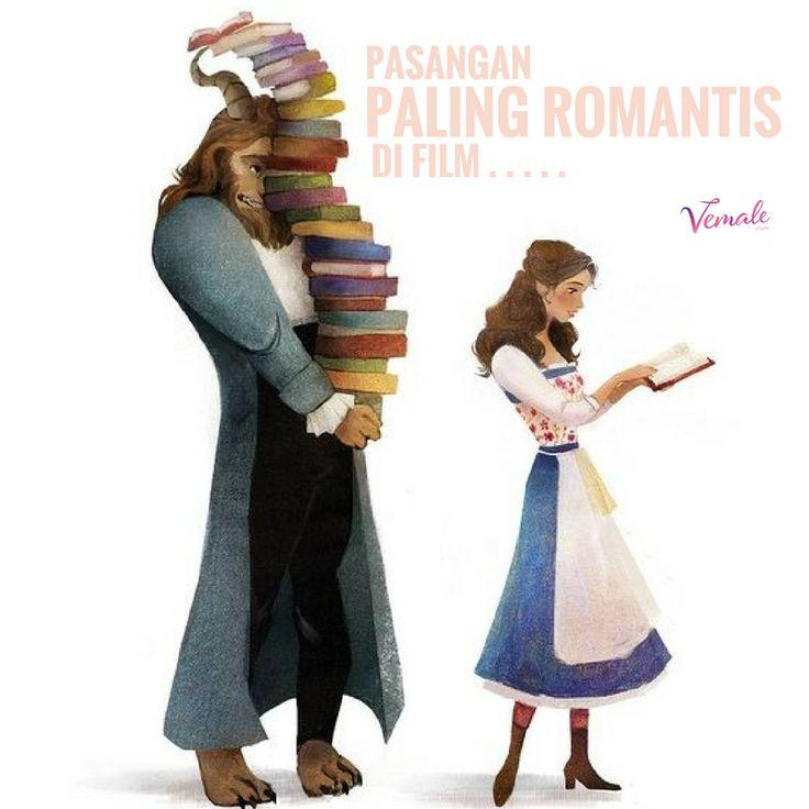 Beast and Belle? Jack and Rose? Rangga dan Cinta? Tao Mingshi dan Sanchai? Siapa Ladies yang paling romantis menurutmu?  Pic: Pinterest, Disney  #vemaledotcom #ruangvemale #sharingajasis #vemalelove #vemalefun #march #good2share
