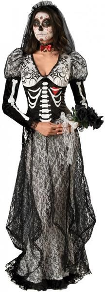 Маскарадный костюм труп невесты
