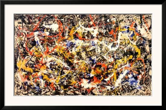 Convergence Prints by Jackson Pollock at AllPosters.com
