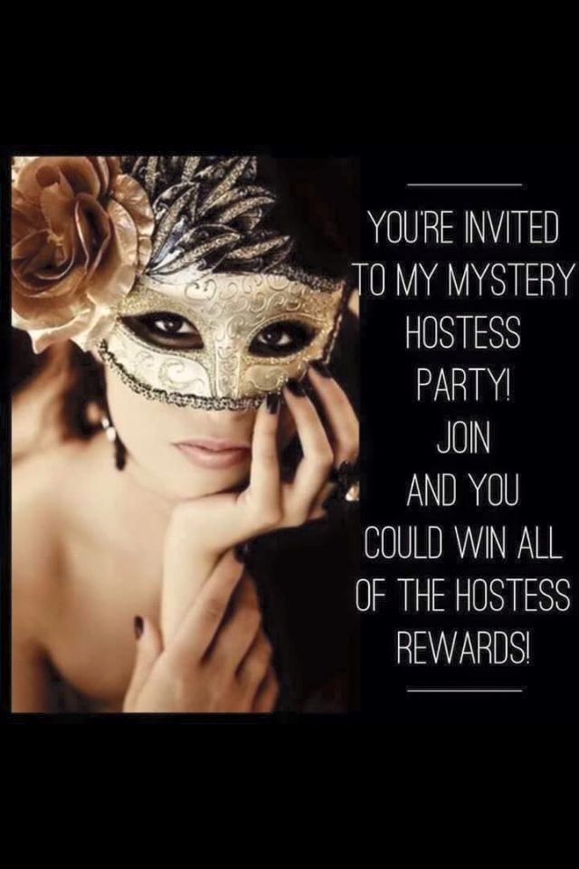 MYSTERY HOSTESS PARTY
