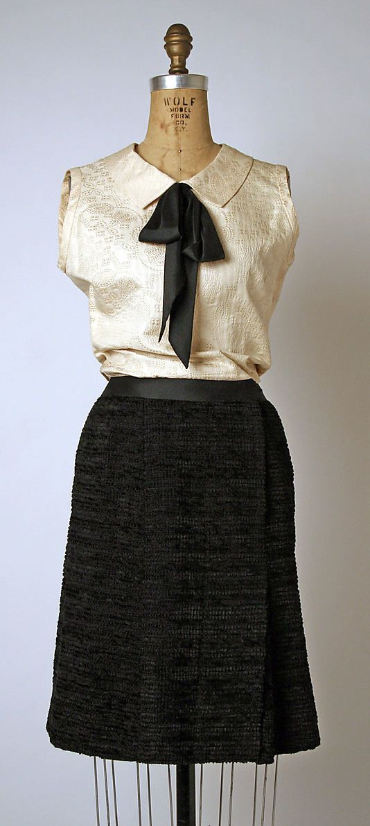 Vintage Coco Chanel Dress | Designed by Coco Chanel in 1964.