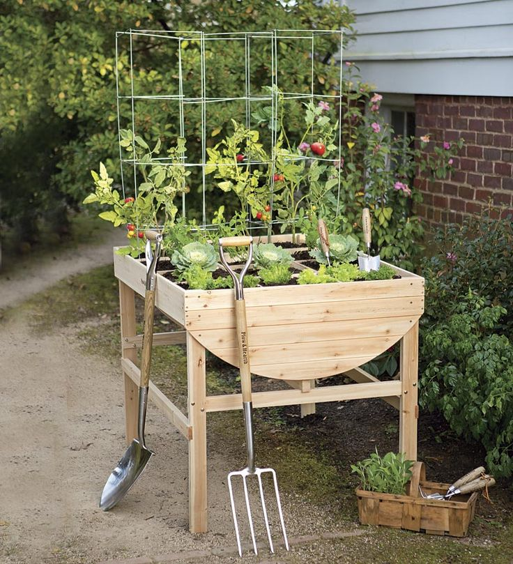 198 best Accessible Gardens images on Pinterest Raised gardens
