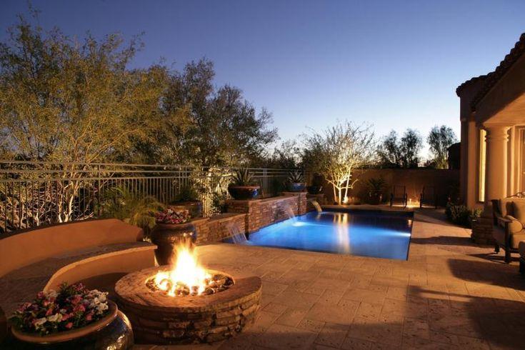 Pueblo Pools And Design In Tucson Az Services Backyard Spaces Pool Companies Paver Tiles