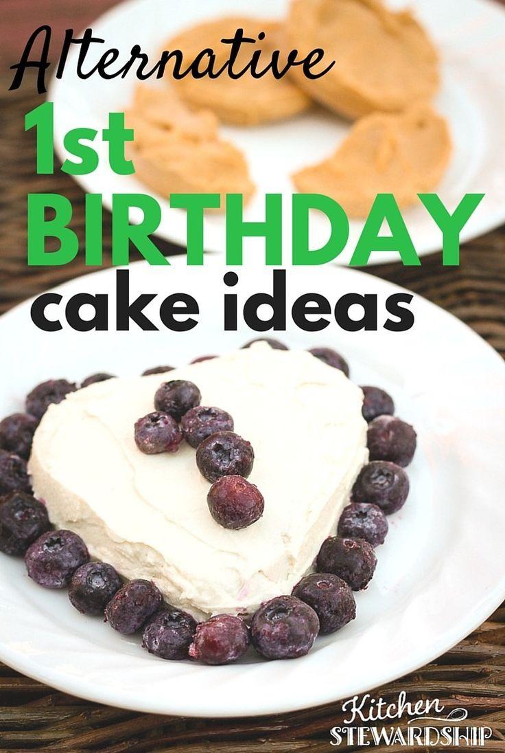 Healthy birthday cake alternatives