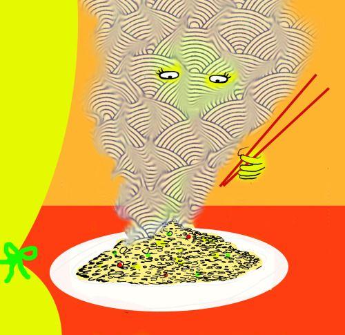 """Un classico contemporaneo: riso saltato con verdure e spezie  Si tratta di una ricetta estremamente versatile e declinabile in moltissimi modi diversi. A seconda della disponibilità e del guizzo del momento (mai sottovalutare il guizzo del momento!) possiamo scegliere diversi tipi di riso, cambiare gli accostamenti delle verdure, orenderlo più sostanzioso aggiungendo dei gamberetti, dell'uovo """"a stracciatella"""", dei cubetti di prosciutto cotto…"""