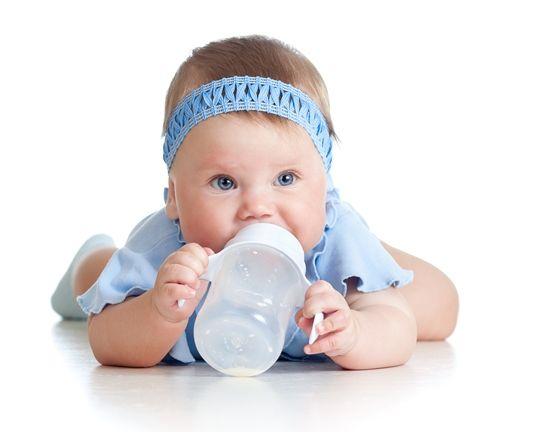 Αποστείρωση μπιμπερό μωρού