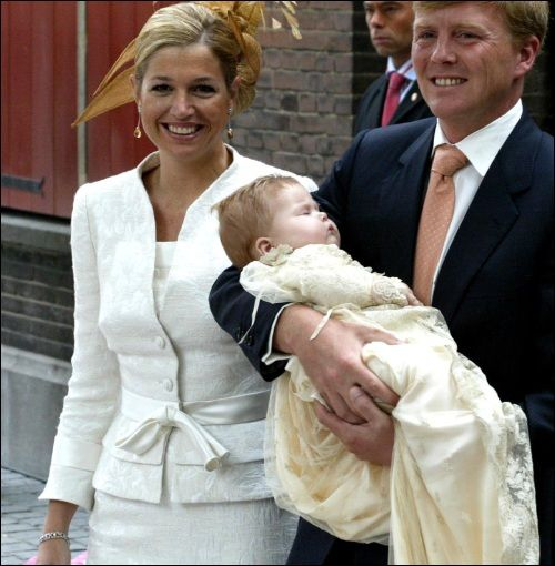 doop prinses Amalia, 2004