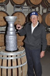Meeting Johnny Bower at Rosewood Winery A true Canadian gentleman and a Hockey Legend by all accounts, Stanley Cup  Toronto Maple Leafs