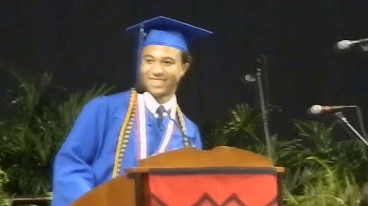 Du0027Marco Jackson, Hermitage Graduate who gave awesome inspirational - graduation speech