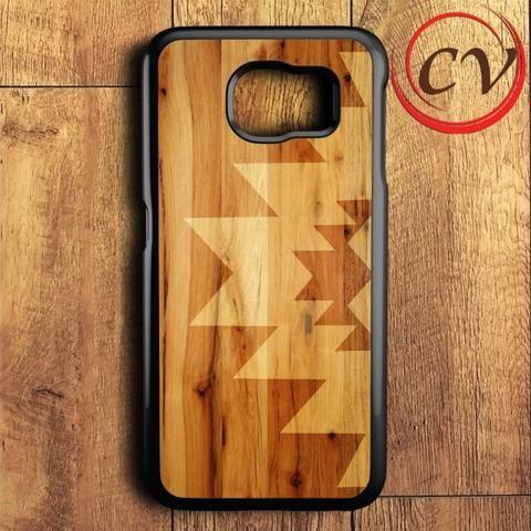 Geometric Wood Samsung Galaxy S6 Case